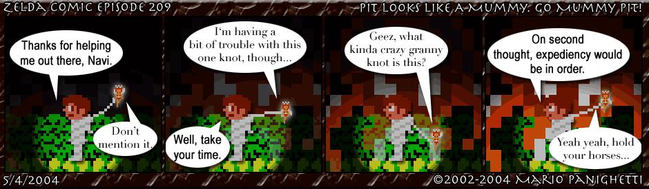 Episode 209: Pit Looks Like A Mummy. Go Mummy Pit!